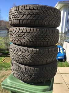 p195/65/15 inch Goodyear Winter Tires / GOOD TREAD / GOOD DEAL