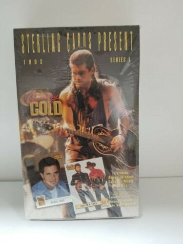 1993 Sterling Country Gold Series 1 Unopened 36 Pack Box Award Winning Artists