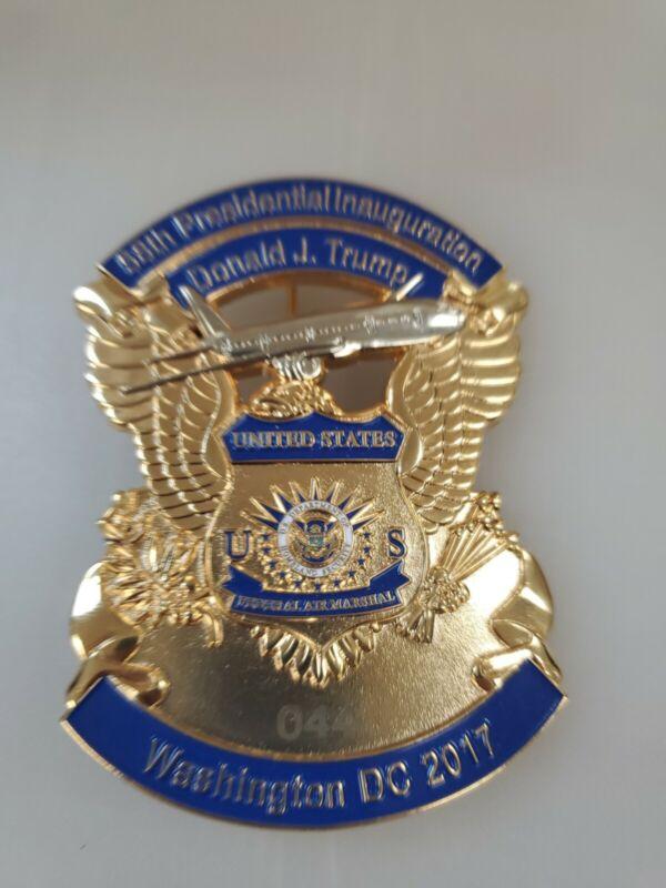 TRUMP 2017  Inauguration badge FEDERAL AIR MARSHAL