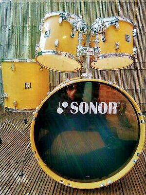 Sonor Force 2003 Classic Natural 9ply  5 Pcs Drum Kit Shell Pack inc Snare