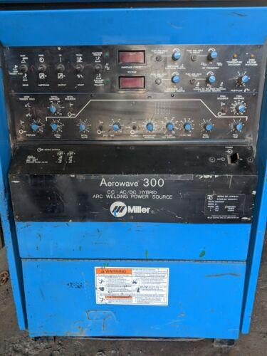 Miller Aerowave 300 Hybrid CC-AC/DC Tig and Stick Welder