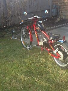 Chopper motorbike for sale