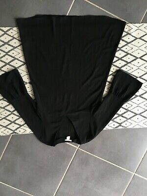 Black H&M Abba style sleeves smock dress. EUR size 34.