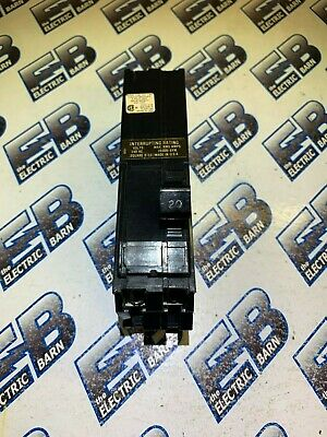 Square D A1b220 20 Amp 240 Volt 2 Pole Breaker- Reconditionedtest Report
