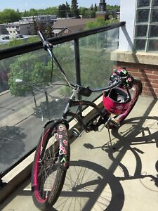 Limited edition cherry cruiser bicycle LIKE NEW CONDITION