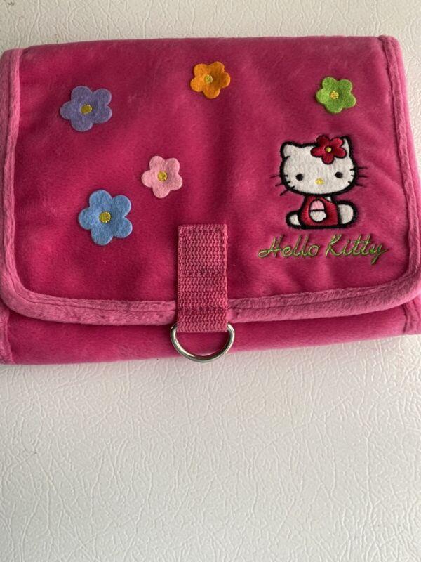 Vtg Hello Kitty Pink Travel Bag Organizer 2000- Excellent!