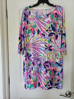 NWT LILLY PULITZER MARLOWE DRESS MULTI HAVIN A BLAST REDUCED medium