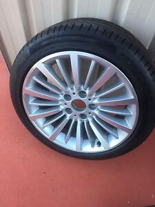 Full set 18 inch Alloy wheels with near new tyres Bracken Ridge Brisbane North East Preview