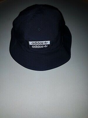 *Adidas Black Bucket Hat One Size Brand New With Tags *
