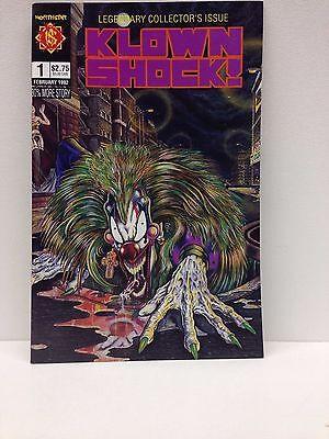 KLOWN SHOCK #1 (NORTHSTAR/IT MOVIE/CLOWN/HORROR/HALLOWEEN/NATIONAL NEWS/041514)  - Halloween Movie Comic Books