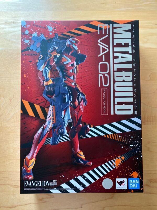 Metal Build Neon Genesis Evangelion Unit 02 EVA-02 action figure Bandai Tamashii