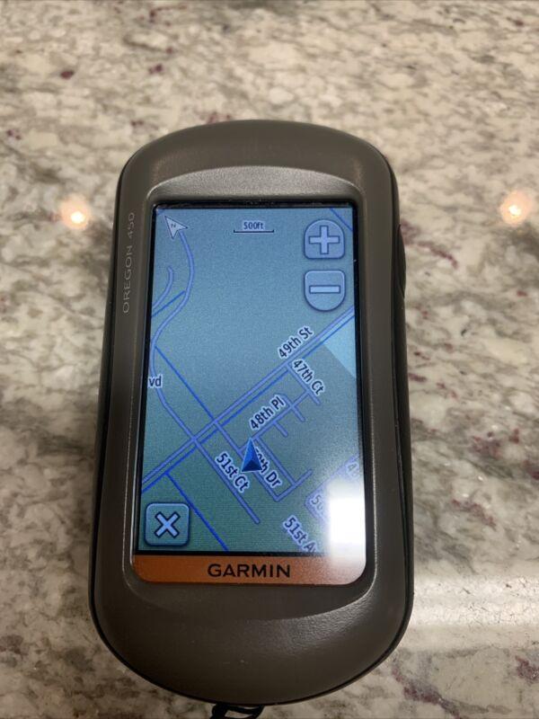 Garmin Oregon 450 Portable Handheld Color Touchscreen GPS Navigator Receiver