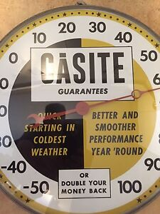 Antique / Vintage 1950's Casite Thermometer