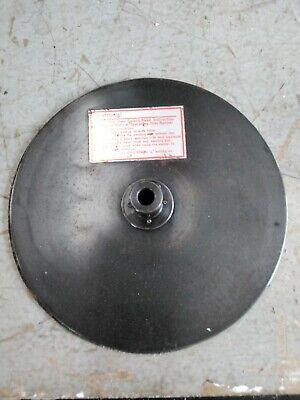 Shopsmith Mark V 500 510 520 12 Velcro Steel Sanding Disc W 6 Sheets Sandpaper