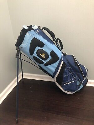 Cobra Golf Stand/Lightweight Carry Bag/Blue-White-Yellow/7-way divider/Free Ship