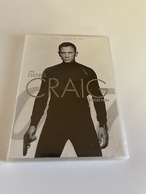 Daniel Craig James Bond DVD Collection, Spectre, Skyfall, Quantum of Solace, etc