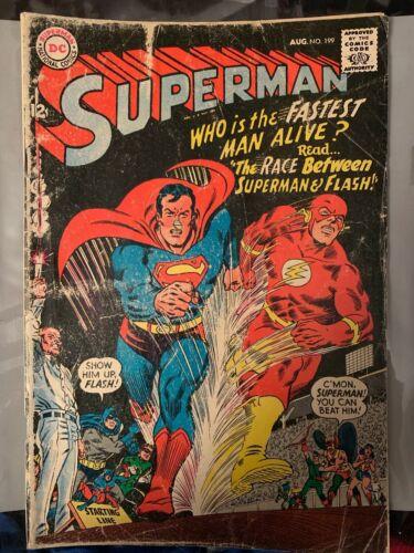 Superman Comic August #199 1967