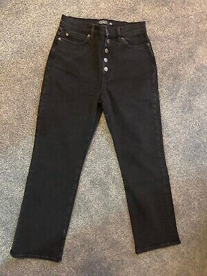 Los Angeles Atelier & Other Stories Jeans Black Trousers Size 28 BNWT