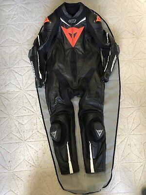 Dainese Laguna Seca D1- 52 -Leathers 1 Piece Motorbike Suit -Track/Race-RRP £900