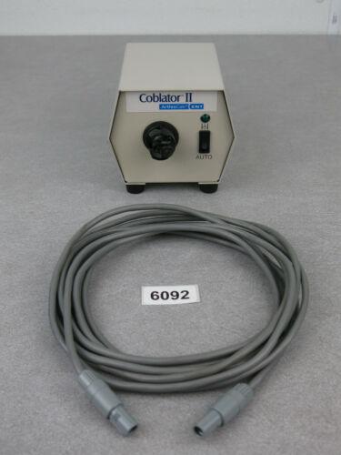 ArthroCare ENT Coblator II Flow Control Valve Unit 10101 & Cable