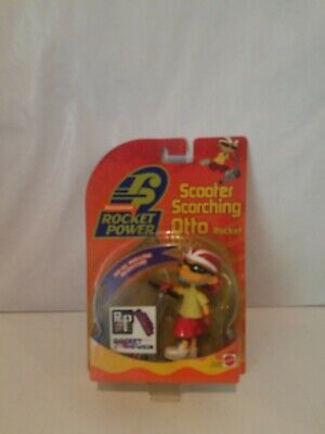 Nickelodeon Nick 2001 Rocket Scooter Scorching Otto Rocket Figure