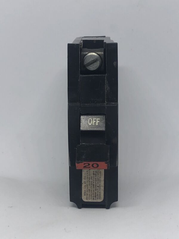 NA120 Federal Pacific 20 Amp Stab-Lok FPE Breakers (PRICE MATCH GURANTEE)