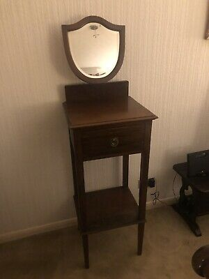 Vintage / Antique Dressing Table / Tall Table With Mirror / Up-cycle Project