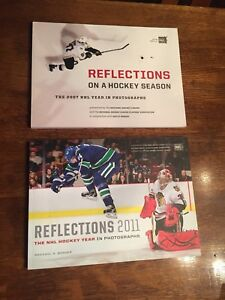 9 Different Hockey Books!  Read once or Not at all!
