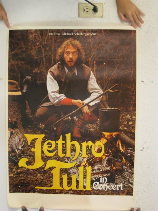Jethro Tull Poster Tour Songs From The Woods Ian Anderson 1977 German