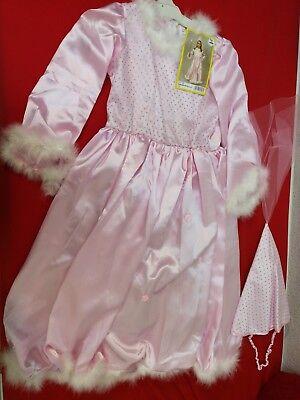 Prinzessin Cinderella Kostüm Mädchen Kinder Kleider Kleid Karneval 128 neu