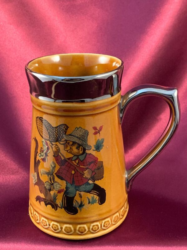 """Lord Nelson Pottery Stein """" Catch A Butterfly"""" Good Condition Pre-owned"""