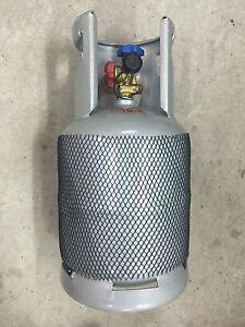 SEI EMPTY REFRIGERANT CYLINDER GAS BOTTLE 10KG 12.5KG R410a R134a R404a R407 +++
