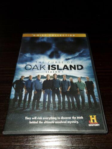 The Curse Of Oak Island Season 1 2 DVD, 2014 History Channel  - $10.00