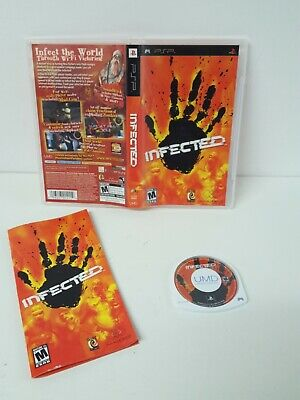 Infected (Sony PSP, 2006) Infect The World Through wi-fi Video Games for sale  Shipping to Nigeria