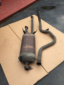 Muffler and tail pipe off of Tundra
