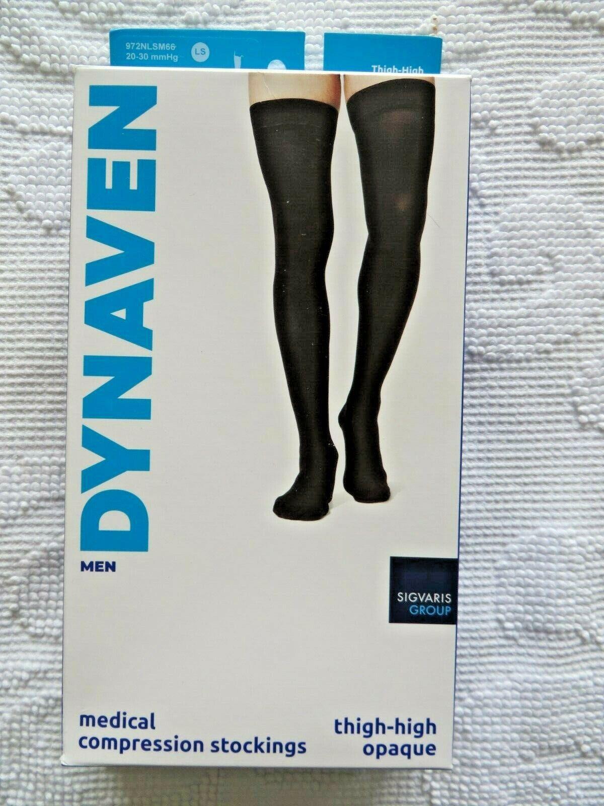 Sigvaris Dynaven Mens Compression Thigh-High Stockings Socks