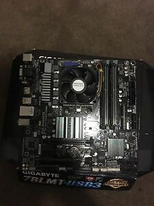 AMD fx-6300 8gb of ddr3 ram and motherboard Medindie Walkerville Area Preview