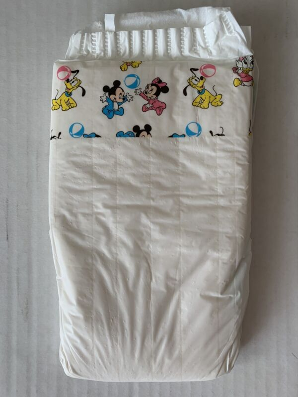 Vintage Pampers, Unisex From 1991 With Disney Babies