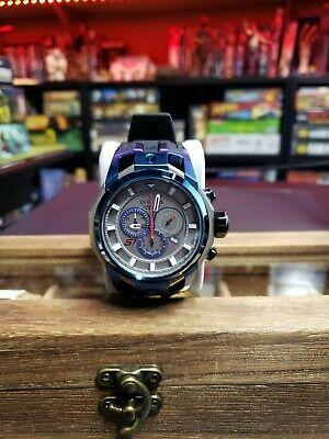 Invicta Rare S1 Rally Quartz Watch - Blue, Titanium case with Black tone