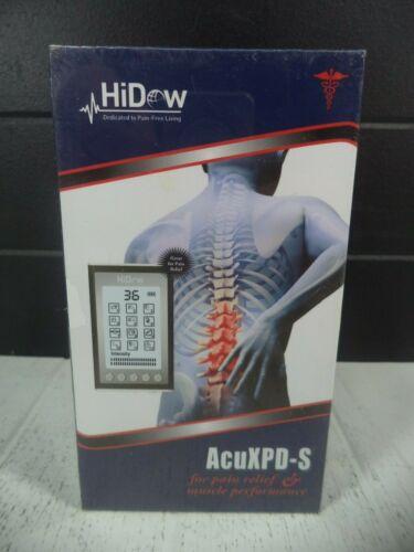 HiDow ACuXPD-S 12 Modes TENS Stimulation Pain Relief Unit Machine *NEW*