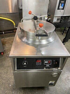 Bki Pressure Fryer Fkm-fc Digital Control Filter System Electric
