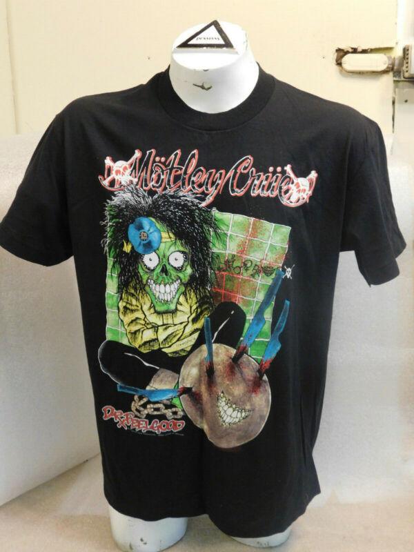 Vintage 1989 Motley Crue Dr Feelgood Tour T-Shirt XL Thin Original Brockum