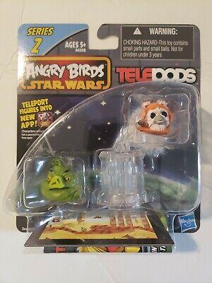 ANGRY BIRDS STAR WARS Ewok Wicket Warrick & Jabba the Hutt Series 2 TELEPODS