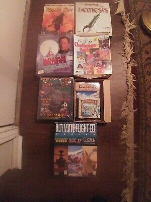 Computer Games - Lot Of 7 VINTAGE CD ROM Windows 95 Computer Games
