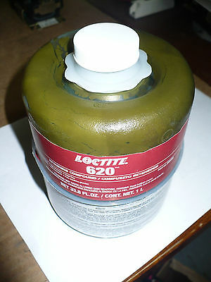 Loctite 620 High Temperature Retaining Compound 62085 Exp1208 1 L New