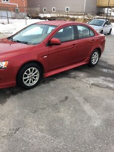 2010 Mitsubishi Lancer Sport  Low kms! Needs to go