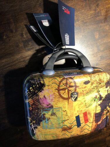 Heys Makeup Case Carry Travel Luggage Hardshell Milano Bag Retired Pattern NeW - $49.99