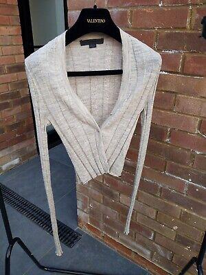 Alexander Wang Cropped Cardigan sz XS/UK6-10/34-38EU