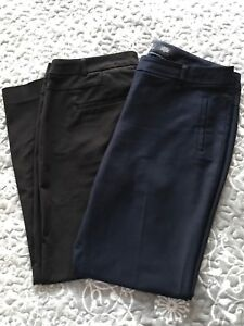 Black and Navy RW&CO Women's Pants