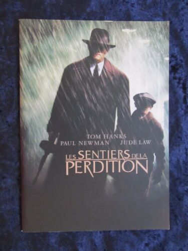 Road To Perdition press book  - Tom Hanks, Paul Newman, Jude Law - 42 pages